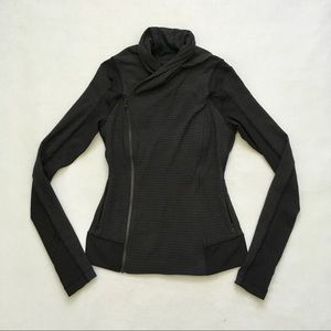Lululemon Bhakti Yoga Jacket Black Dark Slate 4